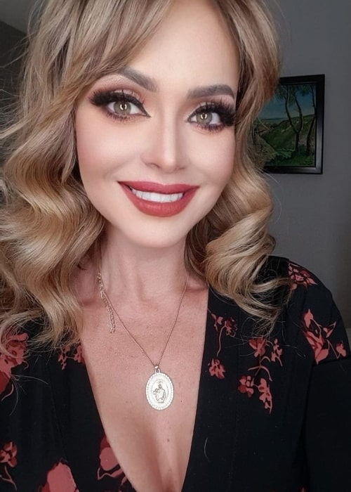 Gabriela Spanic as seen while taking a selfie in January 2021
