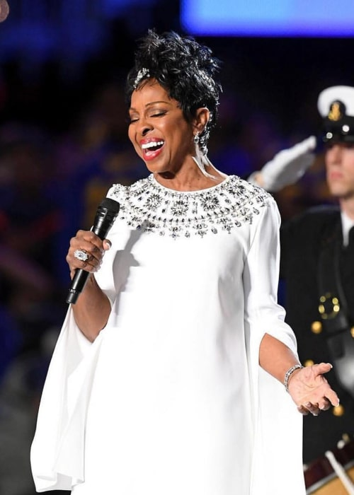Gladys Knight as seen in an Instagram Post in February 2019