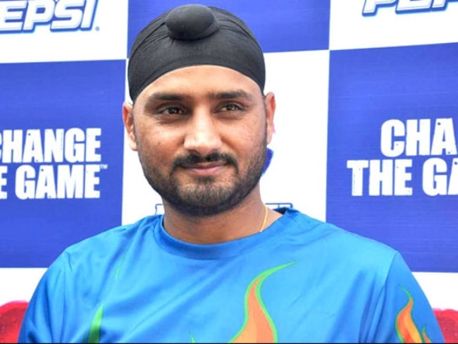 Harbhajan Singh pictured at a promotional event in January 2011
