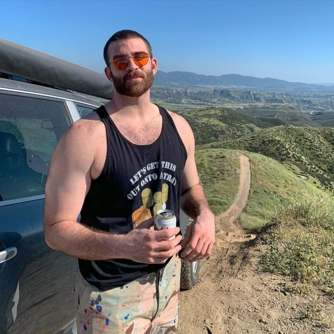 Hasan Piker as seen in a picture that was taken at the Canyon Country in May 2020