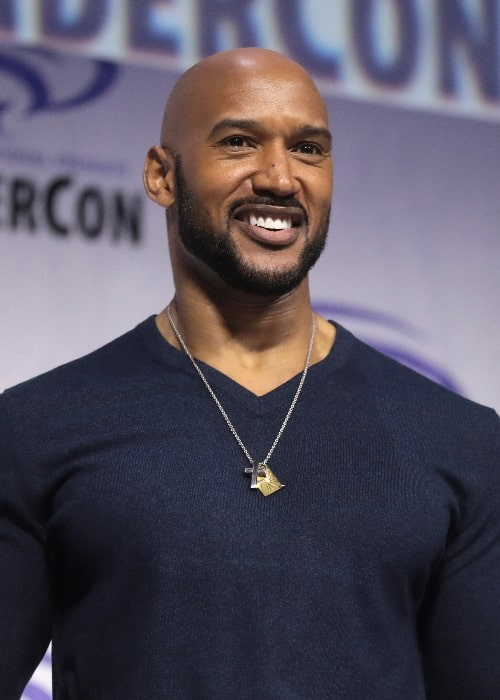 Henry Simmons pictured at the 2019 WonderCon in Anaheim, California