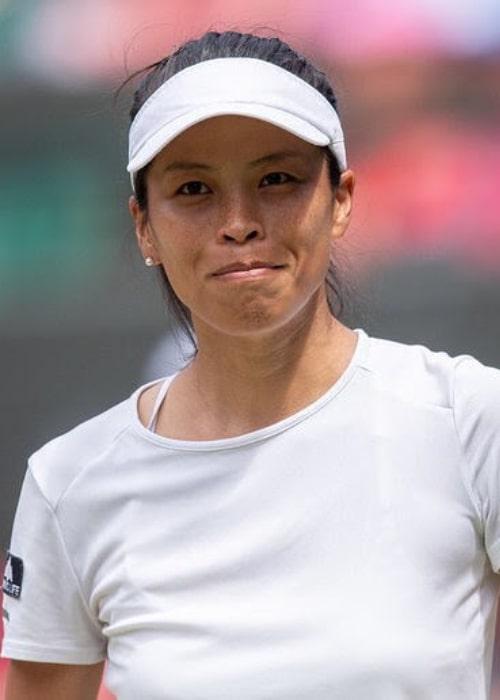 Hsieh Su-wei as seen in an Instagram Post in July 2019