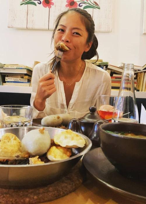 Hsieh Su-wei as seen in an Instagram Post in November 2019