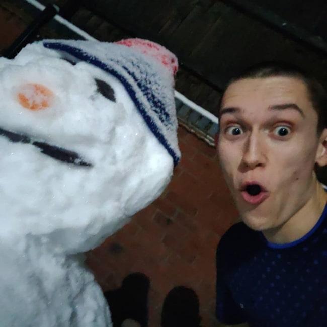 Jack Manifold as seen in a selfie that was taken in January 2021