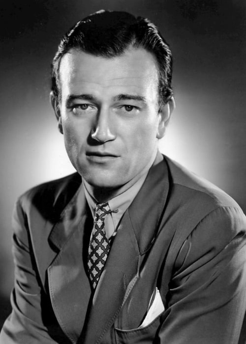 John Wayne as seen in the 1940 film 'The Long Voyage Home'