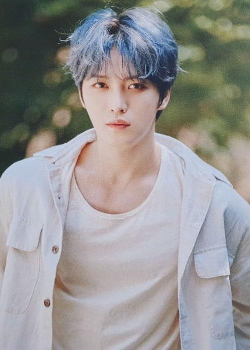 Kim Jae-joong as seen in an Instagram Post in November 2020