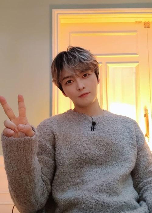 Kim Jae-joong as seen in an Instagram Post in October 2020