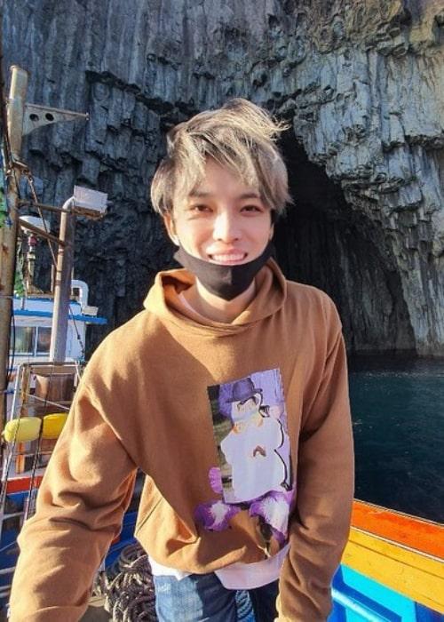 Kim Jae-joong as seen in an Instagram Post in September 2020