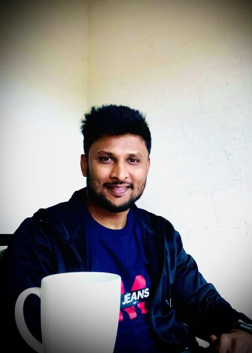 Krishnappa Gowtham as seen in a picture that was taken in January 2021