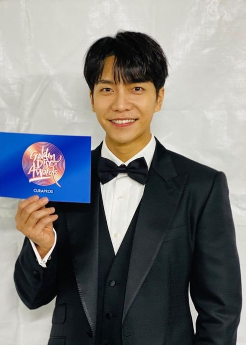 Lee Seung-gi as seen in an Instagram Post in January 2021
