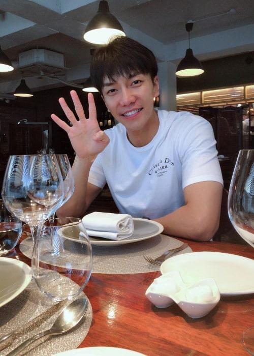Lee Seung-gi as seen in an Instagram Post in June 2018