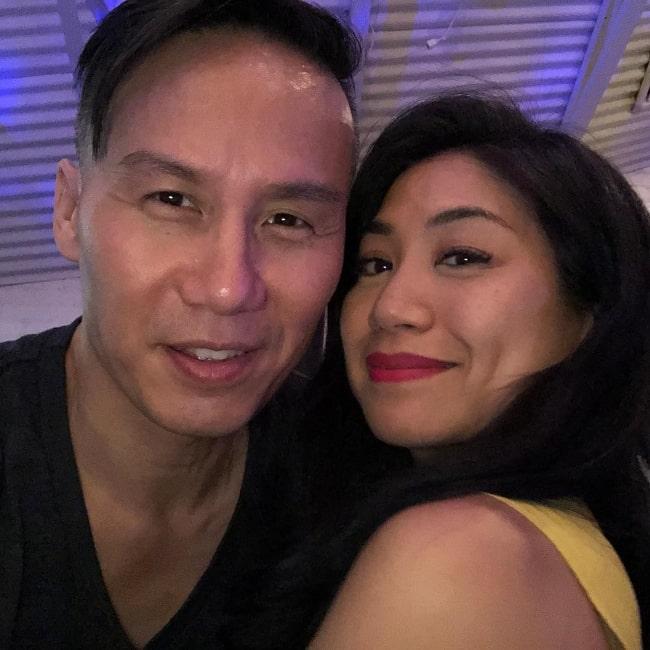 Liza Lapira and BD Wong