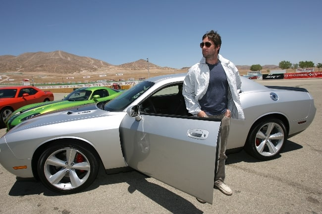 Luke Wilson as seen while posing with the All-New Dodge Challenger in June 2008