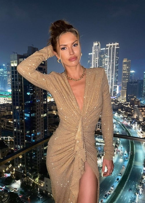 Maja Malnar as seen in a picture that was taken in Dubai, United Arab Emirates in December 2020