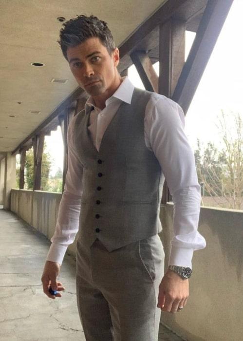 Matt Cohen in February 2021 loving his suit