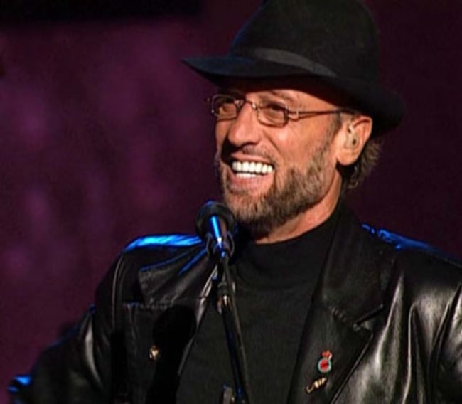 Maurice Gibb as seen in April 2001