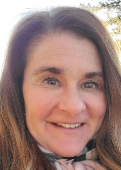 Melinda Gates in March 2020 uging everybody to stay connected