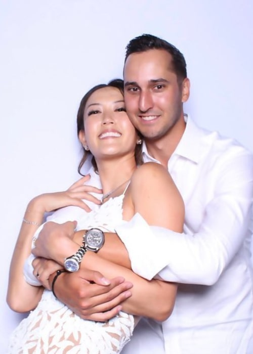 Michelle Wie and Jonnie West, as seen in August 2019