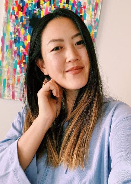 Michelle Wie in an Instagram selfie from July 2020