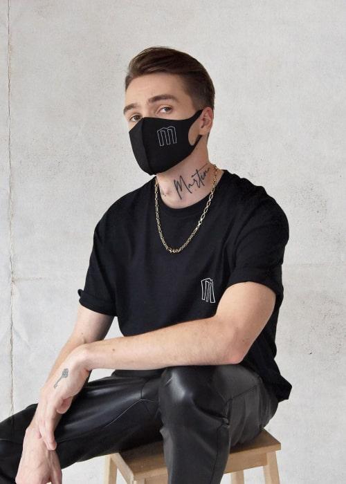 Mikolas Josef as seen in an Instagram Post in July 2020