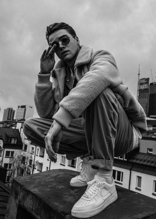 Mikolas Josef as seen in an Instagram Post in November 2020