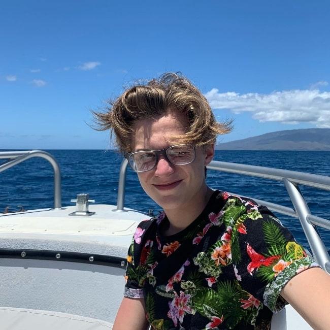 Parker Queenan in Maui, Hawaii in October 2019