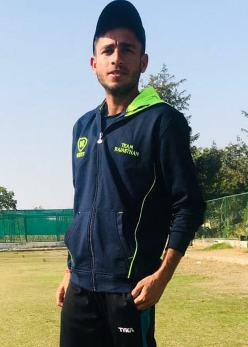 Ravi Bishnoi as seen in an Instagram Post in December 2018