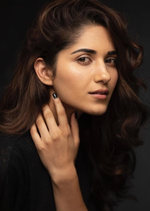 Ruhani Sharma as seen in a picture that was taken in February 2021