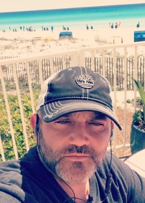 Russell Hantz in an Instagram selfie from March 2018