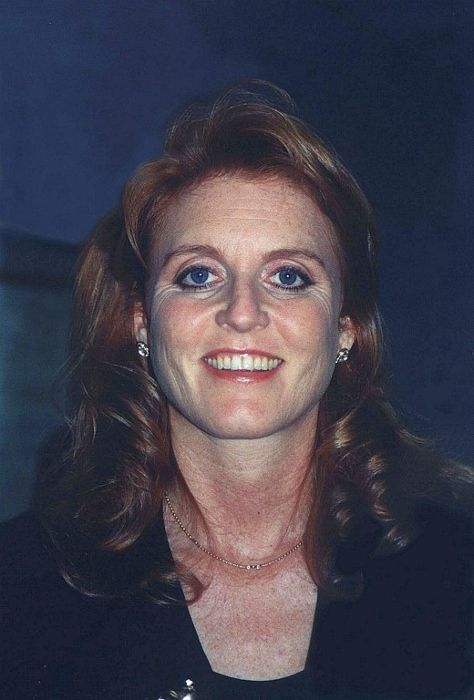 Sarah, Duchess of York as pictured in 1997