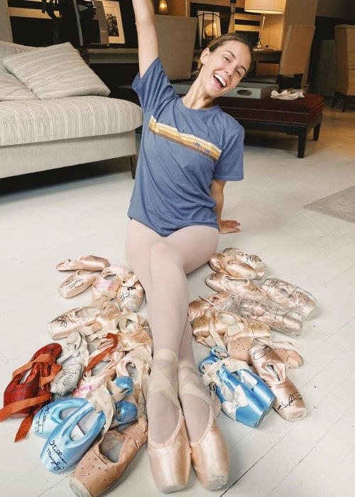 Scout Forsythe as seen in a picture that was taken at the American Ballet Theatre in January 2020