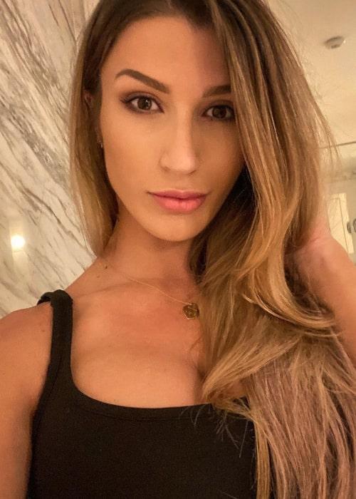 Taylor Spadaccino as seen in a selfie that was taken in Las Vegas, Nevada in January 2021