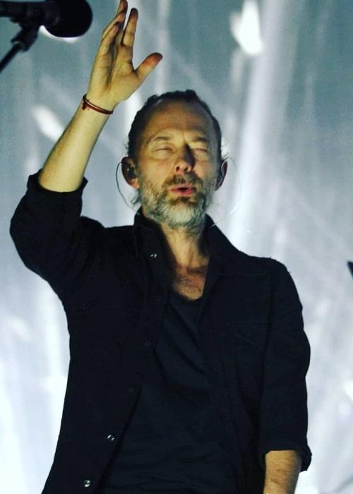Thom Yorke as seen in an Instagram Post in August 2017