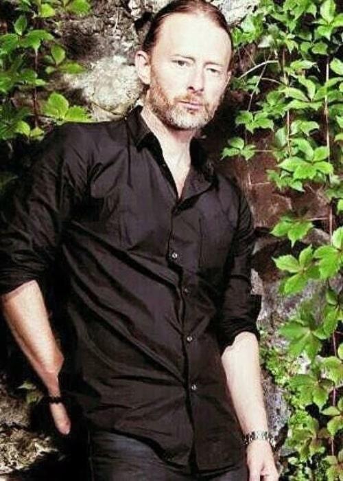 Thom Yorke as seen in an Instagram Post in November 2016