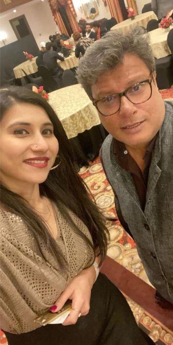 Tigmanshu Dhulia as seen with Ravleen Kaur Sabharwal in 2019
