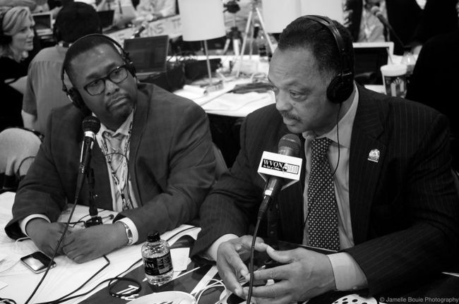 Wendell Pierce (left) as seen with Jesse Jackson in 2012