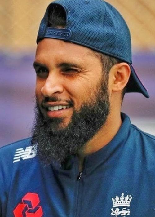 Adil Rashid as seen in an Instagram Post in June 2019