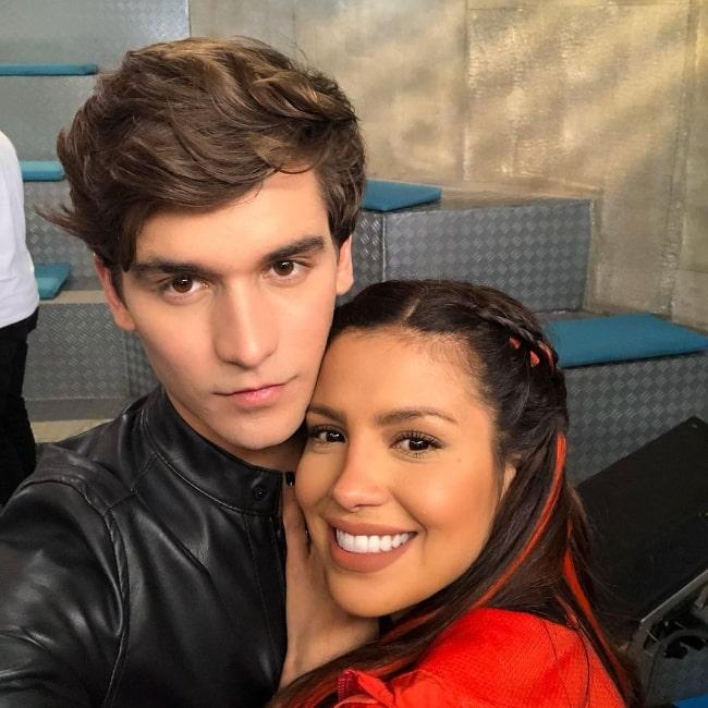 Andrés de la Mora and Karlis Romero in an Instagram post in June 2020