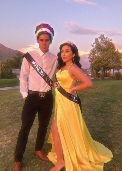 Bbyeileen and her Brandon crowned Virtual Prom King and Queen amidst the Covid-19 pandemic in May 2020