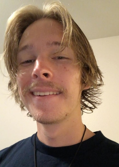BroitsRob as seen in a selfie that was taken in August 2020