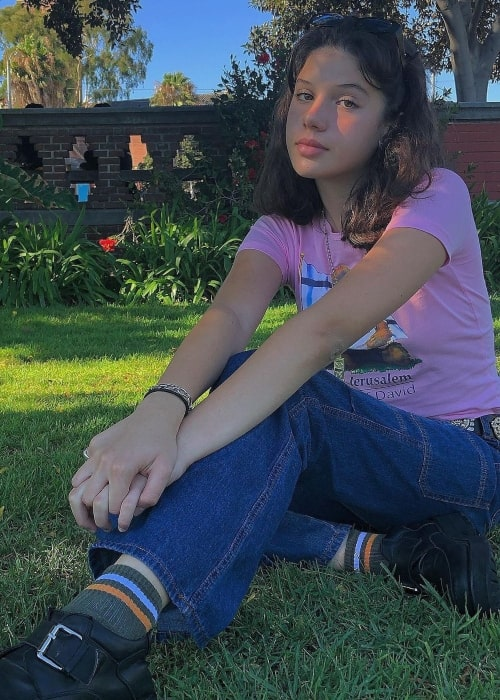 Cylia Chasman as seen in a picture that was taken in August 2019