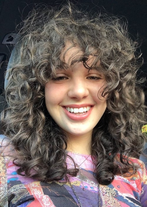 Cylia Chasman as seen in a selfie that was taken in January 2021
