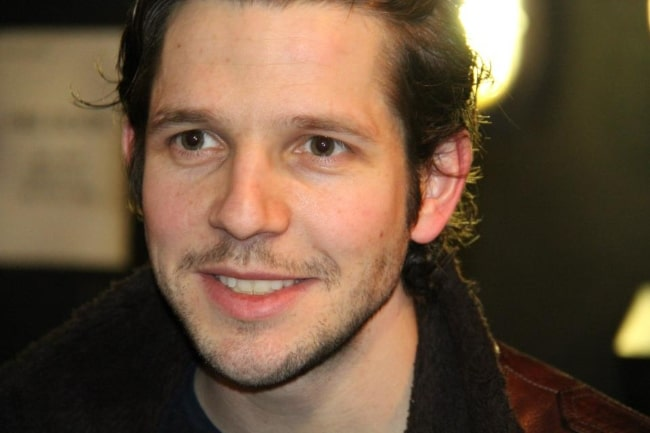 Damien Molony at the Royal Court Theatre in London, England in March 2013