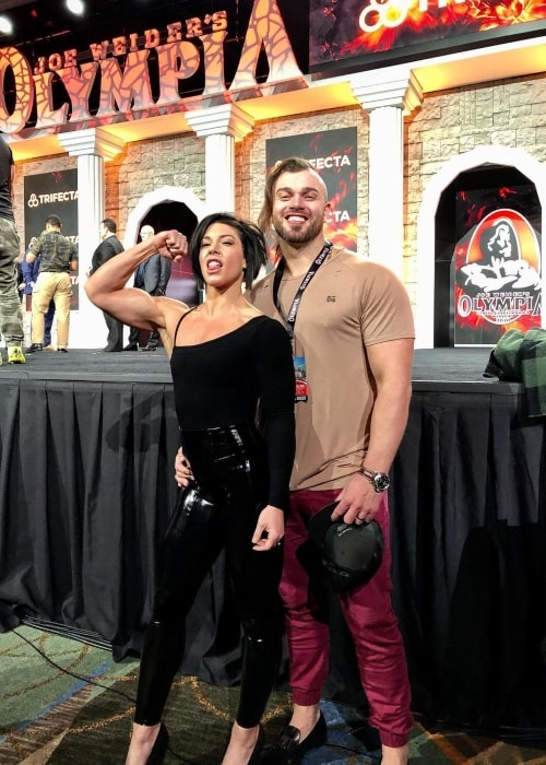 Dana Linn Bailey and her beau Rob Bailey as seen in a picture that was taken at the Orange County Convention Center in December 2020