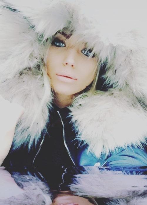 Danielle Harold in December 2017