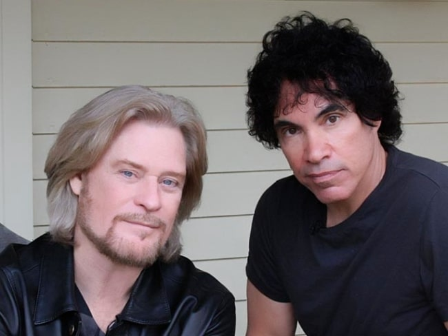 Daryl Hall (Left) and John Oates in October 2008