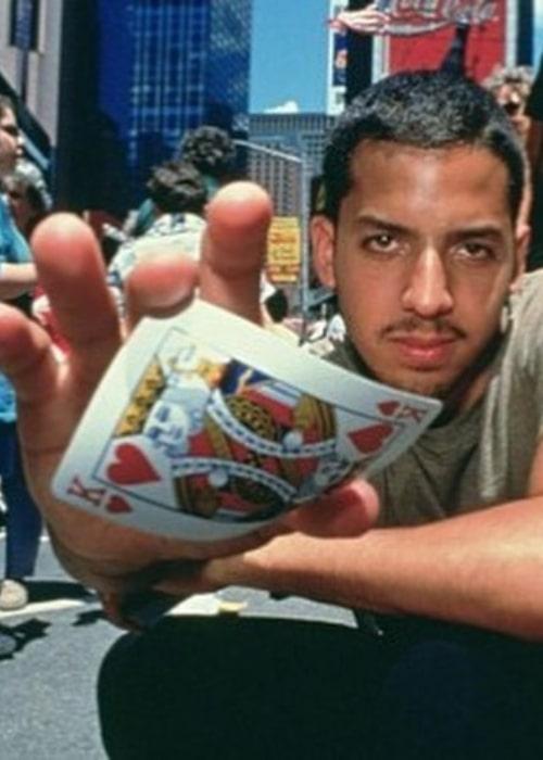 David Blaine in a still from the movie David Blaine Street Magic (1997)