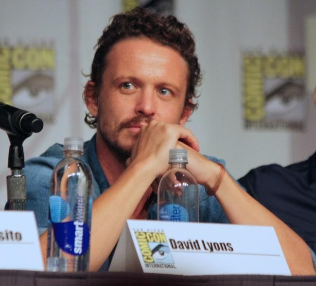 David Lyons at the 2013 Comic Con
