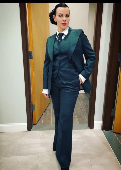 Debi Mazar as seen in a picture that was taken in Brooklyn, New York in December 2020