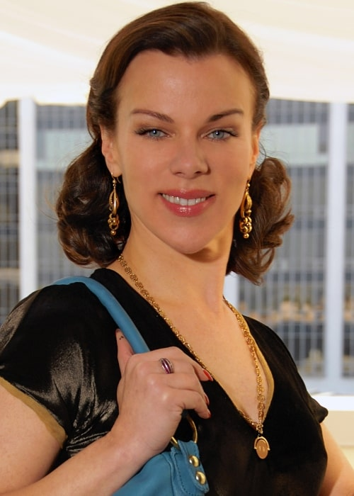 Debi Mazar in a picture that was taken in Beverly Hills, California on December 4, 2009